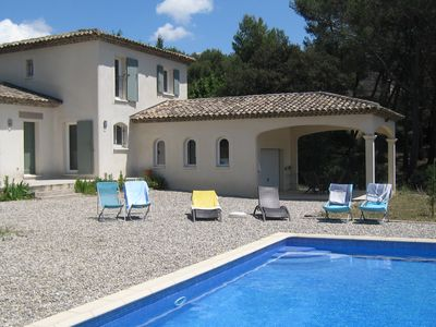 Photo for Villa with pool 6 pers. - between Aix-en-Provence & Marseille -Provence- PACA