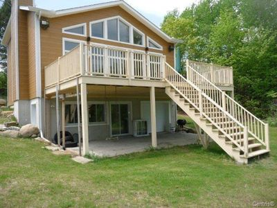 Photo for Large water front home in the Laurentians fully equipped for up to 12 people