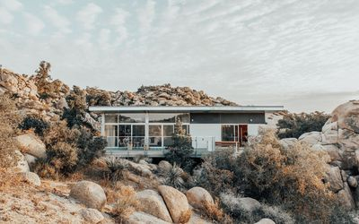 Photo for Mid-Century Modern Desert Getaway on 10 Acres