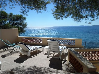 Photo for VILLA FEET IN THE WATER IN SAINT RAPHAEL WITH EXCEPTIONAL SEA VIEW