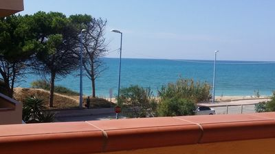 Photo for Sicilia Mare Seaside Apartments - (Max 5 people) - frontbeach