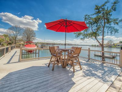 Photo for Southern Breeze lake front property that is pet friendly