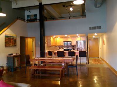 Photo for Eastern Market Loft - Monthly Rental