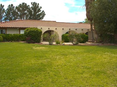 Photo for Private 3/4 acre Custom Home Heated Pool/Spa & Waterfall-Close to Strip!