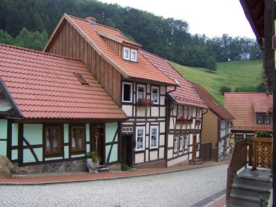 Photo for Rediscover the Harz and live in a lovely restored half-timbered house