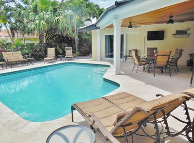 Lay out by the Heated Pool or Enjoy Taking a Dip in the Pool!