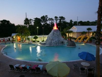 Photo for STUDIO FOR 2~ CYPRESS POINTE RESORT by SeaWorld~ GREAT POOLS/WATERSLIDE/VOLCANO
