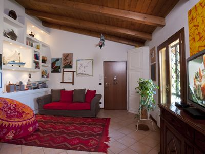 Photo for Cozy apartment in a natural park near Bologna