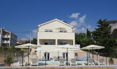 Photo for The house by the sea with pool in Pakostane