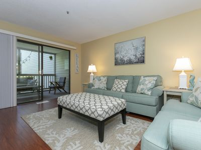 Photo for Fresh 2 Bed/2 Bath Treetops Villa in the Heart of it All