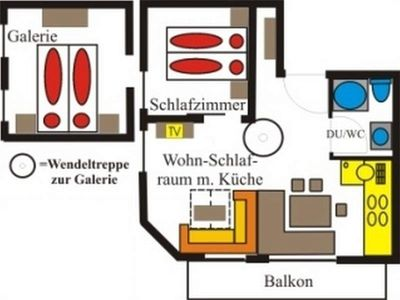 """Photo for Apartment """"Markus"""" / 2 bedrooms / shower / WC - Reindl, apartment"""