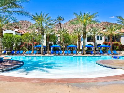 Photo for Best Location! Single Story Poolside Villa with yard across from Clubhouse (C72-2)