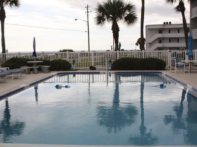 Photo for Ormond Beach ... Oceanfront.. ground floor condo