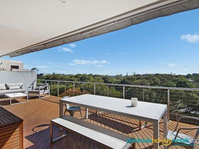 Photo for Provincial - Bay view, short walk to beach & shops