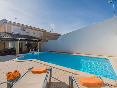 Photo for Spacious and bright semi-detached house with pool and BBQ