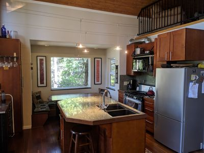 Photo for Spacious modern Cabin 10 mins from Pinecrest lake and 1.5 hrs to Yosemite. WiFi