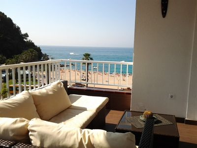 Photo for Apartment with fantastic sea views. IDEAL COUPLES