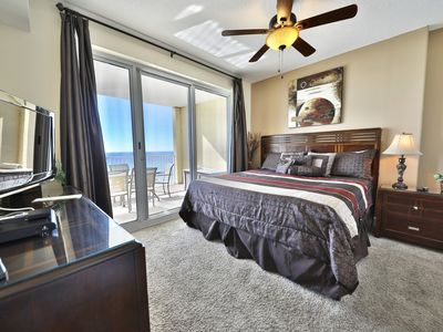 Photo for 4 Bedroom 3 bath end unit with beautiful views of PCB!