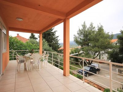 Photo for Two bedroom apartment with terrace Stari Grad, Hvar (A-8757-a)