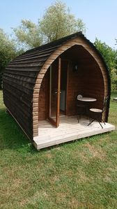 Photo for Quirky Camping Pod..
