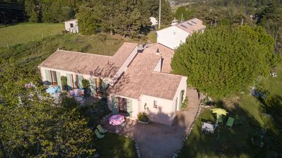 Photo for Le Mas des Chardons Bed and Breakfast near GRASSE 06