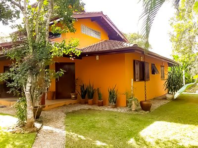 Photo for I rent house on the beach of Itamambuca