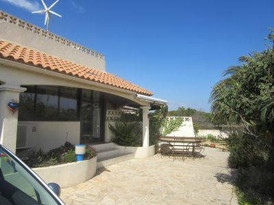 Photo for PROMO! June and September- 10% Villa -145 m. 2, 400 m from the beach, outdoor spa