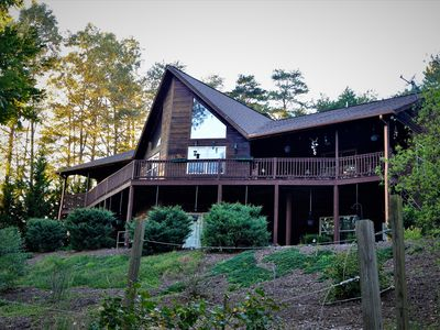 Photo for Beautiful Cabin with Hot Tub, Game Room, and Pet Friendly