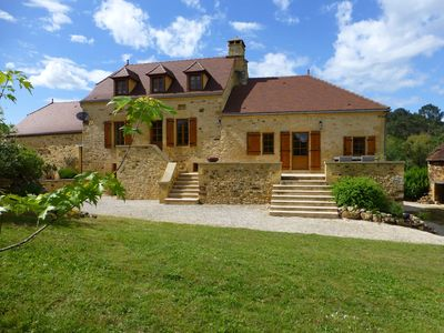 Photo for Le Chataignier-16thc farmhouse & luxury gite, Nr Sarlat & Domme, Heated Pool
