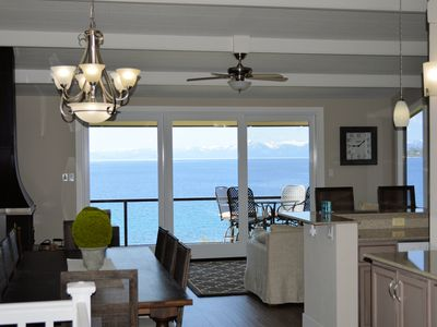Photo for LUXURIOUS LAKEFRONT w/Private Beach - Everything you need!