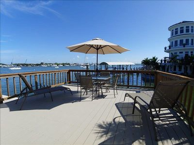 Photo for Bayfront Home 5 minute walk to beach and Times Square and Pet Friendly