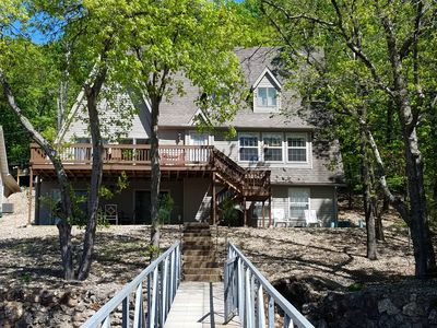 Photo for Lakefront home in Osage Beach at the 22 MM in a beautiful cove!