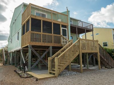Photo for We are OPEN! Great Reviews, Recent Re-model and Steps to Beach!