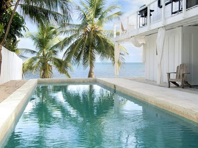 Photo for Leila's Beach House with Oceanfront Pool