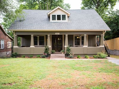 Photo for 3200 sq ft. bungalow in famous Five Points East - 2 mi. from downtown Nashville