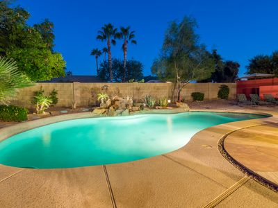 Photo for Single family in North Scottsdale with huge lot, private pool and spa!