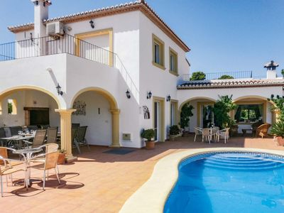 Photo for 6 bedroom accommodation in Moraira