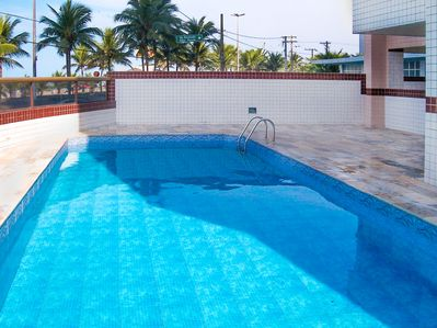 Photo for M011- Front Sea-SWIMMING POOL -to 8 PEOPLE