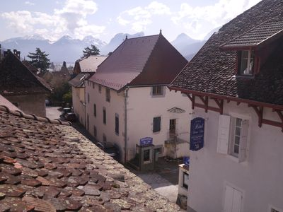 Photo for Talloires village house - perfectly located. Stroll to Lake Annecy. Sleeps 8.