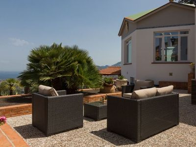 Photo for 6 bedroom Villa, sleeps 13 in Carini with Pool, Air Con and WiFi