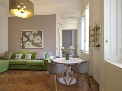 Photo for Ambra 42 - bright and wonderful one bedroom flat in Brera