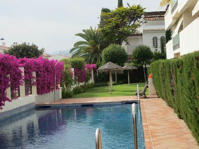 Swimming Pool with Garden