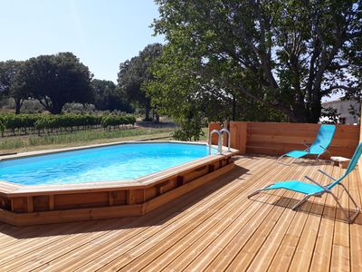 Photo for The Little House In the Vines with Pool