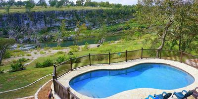 Photo for Rio Cantando Has It All! Blanco River,pool,hot Tub, Game Room