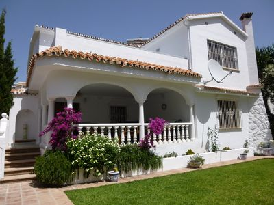 Photo for Beachside Detached Villa With Private Pool, Air Conditioning And Gardens