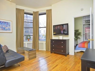 Photo for *Alacanta* Sunny 1 Bedroom Apartment with Private Terrace- view of Hudson River!