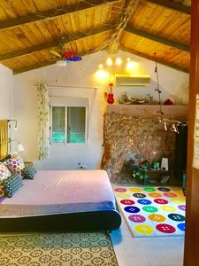 Photo for little cozy CHEERFUL house pool 10x5 big bedroom, a big bathroom and a kitchen.