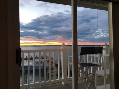 Photo for OCNJ WATERFRONT CONDO WITH POOL, PARKING, & MAJOR VIEWS