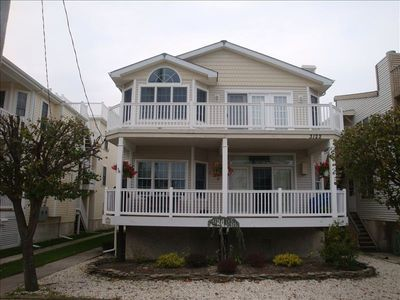 Photo for *3rd House from Beach* 2nd Flr Condo, partial ocean view **Free Beach Passes**