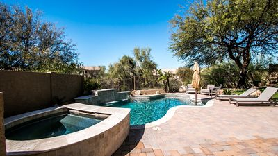 Photo for Relax in a Resort-Style Backyard near TPC, Spring Training & Grayhawk/DC Ranch